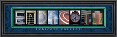 Endicot College The pictures from campus spell #ENDICOT @EndicottCollege @EC_Alumni