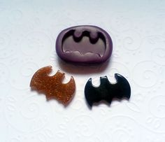 Silicone-Mold-Batman-Bat-Mould-27mm-Fondant-Cake-Topper-Clay-Chocolate-Resin-301375819225