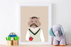 cricket, Playroom Art, wall Australian Nursery art, printable, Wombat, Wall  Art Kids, Australian Animals, Golf, Baby Shower Gift, playroom inspiration, nursery