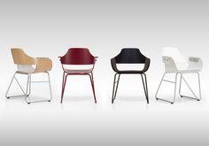 Showtime chair - Sled base | BD Barcelona Design