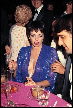 Liza Minnelli at her Birthday party, Studio 54, New York City 1979