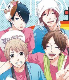 Nijiiro Days - I really love their friendship... I wish I had friends like them irl TT^TT