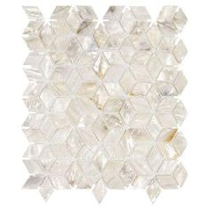 Finally found my master bathroom backsplash tile! I am in Love with this for my beachy haven. Jeffrey Court, Mermaid Scales  Shell Mosaic Wall Tile, 99777 at The Home Depot - Mobile