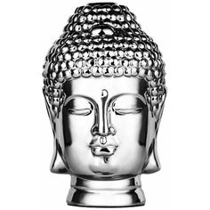 Abbyson Living Buddha Figural, Silver ($99) ❤ liked on Polyvore featuring home, home decor, decor, fillers, buddha, extras, silver, buddha figure, abbyson living and silver home decor