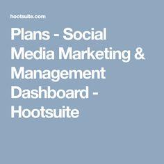 Plans - Social Media Marketing & Management Dashboard - Hootsuite