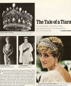 The tale of a tiara