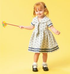 Toddlers' Dresses and Tie Ends, M6913 http://mccallpattern.mccall.com/m6913-products-48259.php?page_id=96