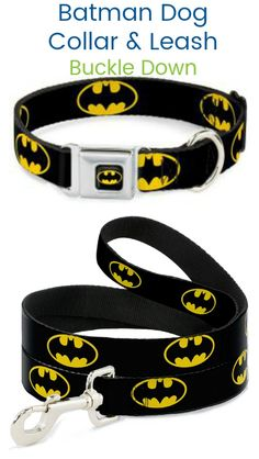 c4ed2abca Show off your favorite super hero! Dog Collars   Leashes