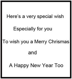 Christmas Greeting Card Verses and Sentiments - Funny Pictures