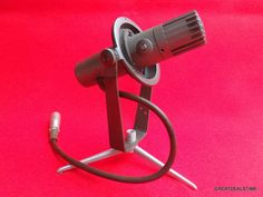 RCA BK-5B VINTAGE RIBBON MICROPHONE, With Stand, MI-11010-A, BK5B VTG RARE MIC #RCA Recording Equipment, Man Cave Signs, Vintage Guitars, Rigs, Audio, Ribbon, Ebay, Tape, Treadmills