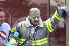 One of the many firefighters of 9/11.