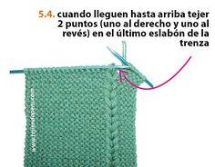 Cuello con trenzas de vainilla - Tejiendo Perú Knitting Patterns Free, Knit Patterns, Free Pattern, Neck Warmer, Baby Shower, Accessories, Ideas Para, Base, Fashion