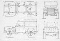 Blueprints: Lotus Super Seven Landrover Defender, Defender 90, Lotus Auto, Lotus 7, Caterham Cars, Caterham Super 7, Caterham Seven, Kit Cars, Land Rovers