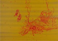 Graeme Todd Parnassus, 2015 Mixed Media 16 1/2 x 11 3/4 in. (41.91 x 29.85 cm) - Bridgette Mayer Gallery