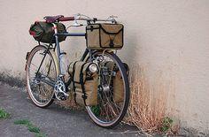 vintage bike touring