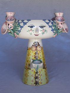 Bjorn Wiinblad Studio Pottery Eva Denmark Sculpture