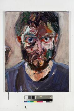Ben Quilty - Self portrait after Rattle's Bucks