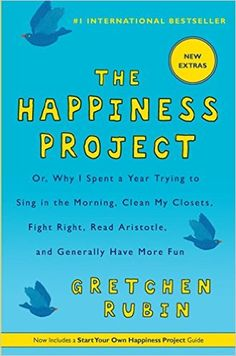 The Happiness Project: Amazon.co.uk: 9781443414562: Books Best Inspirational Books, Motivational Books, Good Books, Books To Read, Sleep Early, Happiness Project, Reading Lists, Book Lists, Paperback Books