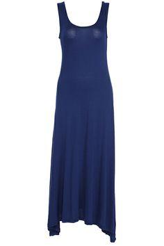 ROMWE | ROMWE Cut-out Slim Blue Dress, The Latest Street Fashion