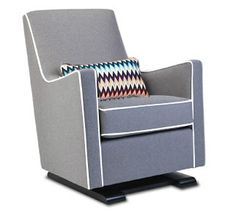 luca glider chair - modern nursery furniture by Monte Design