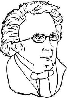 Franz Schubert  coloring page