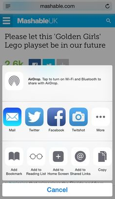 How to add a Pinterest sharing button to your iPhone