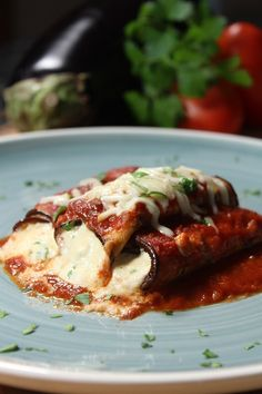 Best Eggplant Rollatini Recipe - Sinde Ok Food Easy Soup Recipes, Vegetarian Recipes, Cooking Recipes, Healthy Recipes, Simple Recipes, Yummy Recipes, Keto Recipes, Dinner Recipes, Pizza Recipes