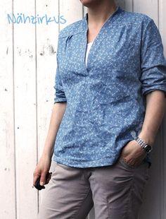 lillesol & pelle Schnittmuster/ pattern: Blusenshirt / blouse