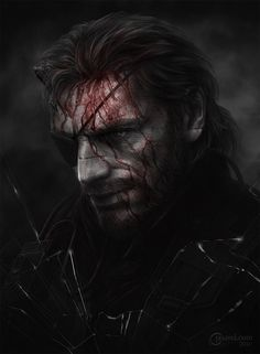 Metal Gear Solid V. The Phantom Pain fan art by jasavel