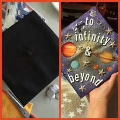 My graduation cap!!! I love it!  thanks to my cousin @alma_dova who helped me! #graduationcap #shsu #toinfinityandbeyond #Padgram