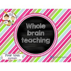 Affiche-Whole brain teaching (Power teaching) Whole Brain Teaching, Document, Motivation, Boutique, Billboard, Products, Boutiques, Inspiration