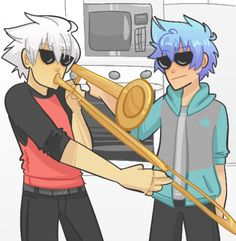 When maka and tsubaki aren't home