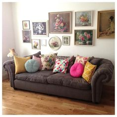 vintage cushion love......@ hello homey