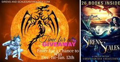 Sirens and Scales Urban Fantasy Reader Giveaway Competition