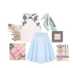"""""""Who wants a shoutout?"""" by shazzaandme ❤ liked on Polyvore featuring NOIR Sachin + Babi, WithChic, Bobbi Brown Cosmetics, Charlotte Tilbury, women's clothing, women's fashion, women, female, woman and misses"""