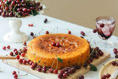 Cherry Cake, Camembert Cheese, Pineapple, Dairy, Fruit, Food, Pine Apple, Essen, Meals