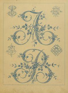 This same style A-Z. L'Art dans la lingerie, by G. Mesureur. Published by Hennuyer, Imprimeur-Editeur in Paris.