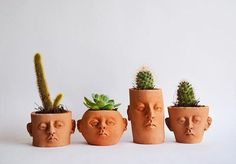 🌵🌵 Potheads by @headplanter, handmade in México. 🌵🌵 #makersmovement