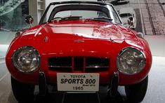 Toyota S800 Publica 1965 that fought for supremacy of the air-cooled horizontally opposed engine in the adoption light was exhaust sound Honda S800 and the race of