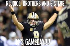 The last match of New Orleans Saints vs Los Angeles Rams was very interesting. Score goes to 23 – After this match memes of New Orleans Saints goes viral on social media . Nfl Saints, Saints Memes, New Orleans Saints Game, Football Quotes, Funny New, Who Dat, Sports Humor, Lsu, Funny Memes