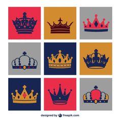 Resultado de imagen para coronas de reinas vector