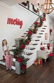 Deck the halls with gorgeous holiday decor from Kirkland's 'Merry and Bright' collection this season! There's no substitute for a sweeping garland with colorful accents in your entryway to welcome guests into your home. Shop the collection to create a win Noel Christmas, White Christmas, Christmas Wreaths, Christmas Crafts, Beautiful Christmas, Christmas Entryway, Christmas Staircase Garland, Christmas Ideas, Christmas 2019