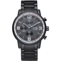 75037ed1786 Relógio Tommy Hilfiger Masculino Aço Cinza - 1710339