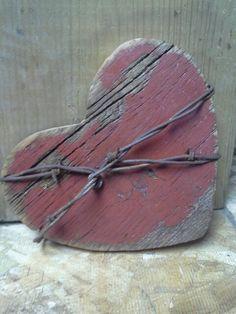 Old barn board barbwire! Handmade!!!