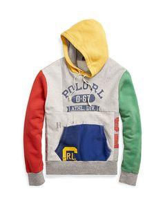 768a8e98 Extra Off Coupon So Cheap Polo Ralph Lauren 2017 Retro Stadium Patchwork  Hoodie Exclusive Authentic Sz L