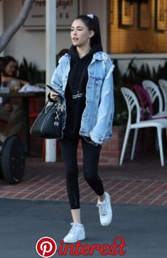 Trendy how to wear nike air force outfit sneakers 68 ideas Leather Jacket Outfits 2020 Sneakers Fashion Outfits, Edgy Outfits, Nike Outfits, Grunge Outfits, Casual Comfy Outfits, Casual Wear, Black Outfits, Casual Clothes, Women's Casual
