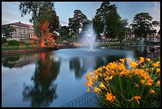 May Park (LV Maija parks)  Latvija,Cesis