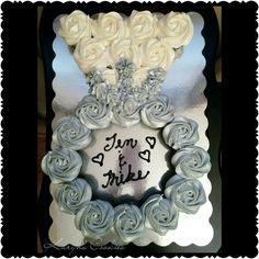 Engagement Ring Bridal Shower Wedding Cupcakes Cake Pull Apart Cakes