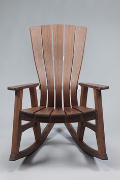 Sunniva Outdoor Rocking Chair in Walnut : Brian Boggs Chairmaker