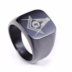 Anillo  -Grabación Láser- Sólido y Brillante - Envío Gratis https://templomasonico.info/products/fashion-new-silver-mens-rings-jewelry-freemasonry-free-mason-masonic-stainless-steel-finger-ring-for-men-019?utm_campaign=crowdfire&utm_content=crowdfire&utm_medium=social&utm_source=pinterest